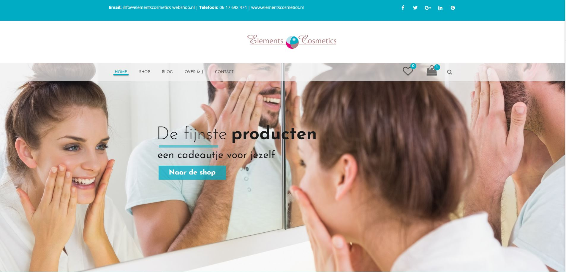 elements cosmetics webshop in woocommerce