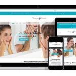 responsive webshop voor schoonheidsspecialiste