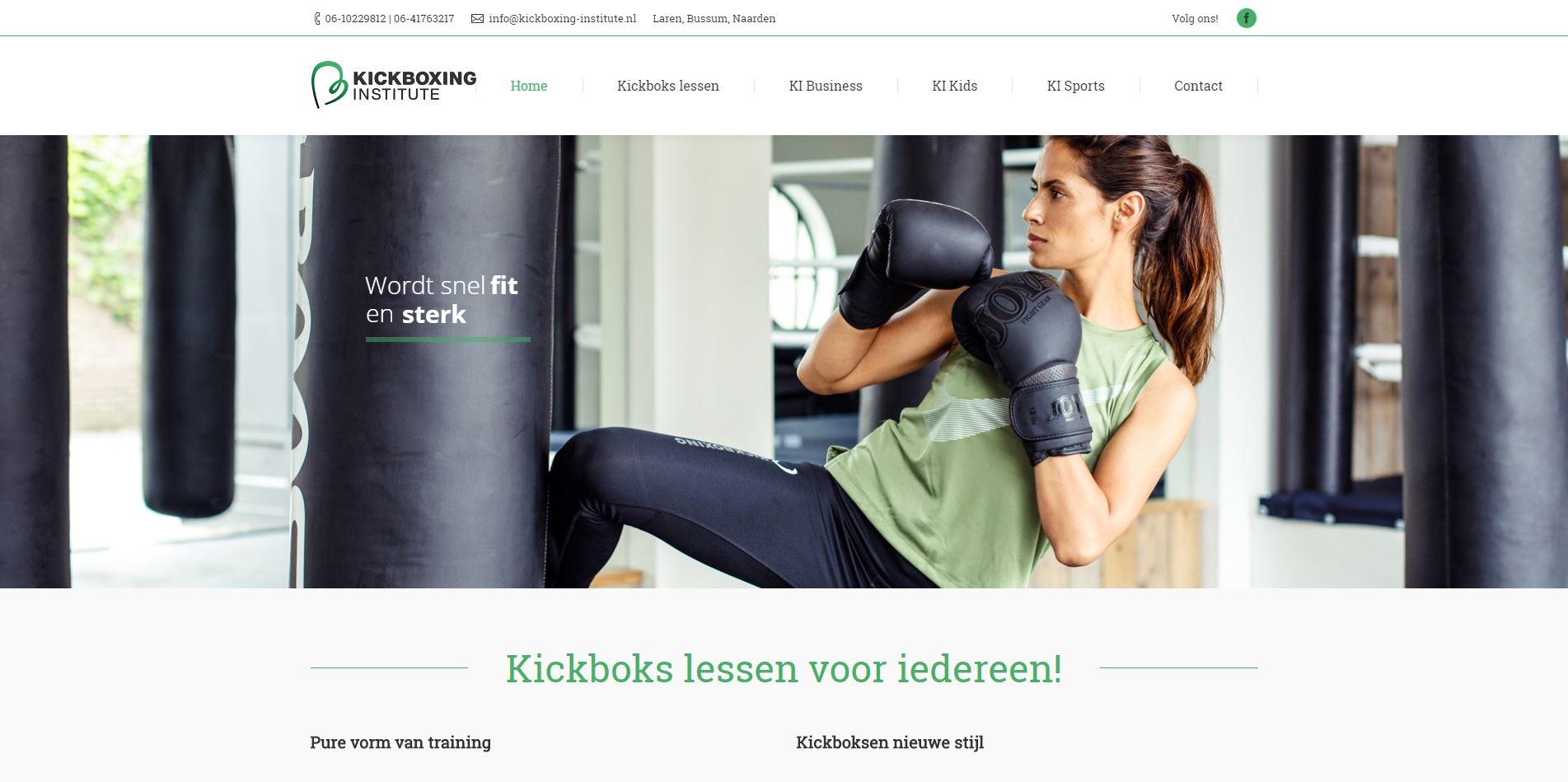 SEO Optimalisatie Kickboxing Institute