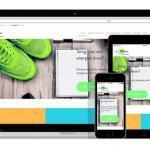 responsive wordpress website voor voedingscoach
