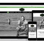 responsive website voor personal trainer