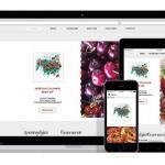 responsive wordpress website voor restaurant