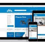 responsive webshop voor fietsenwinkel