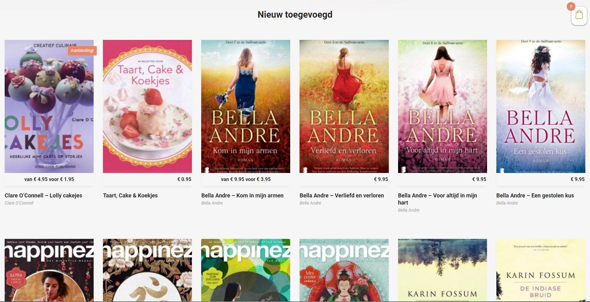 Stapel Boeken webshop van Nickyz Bookz