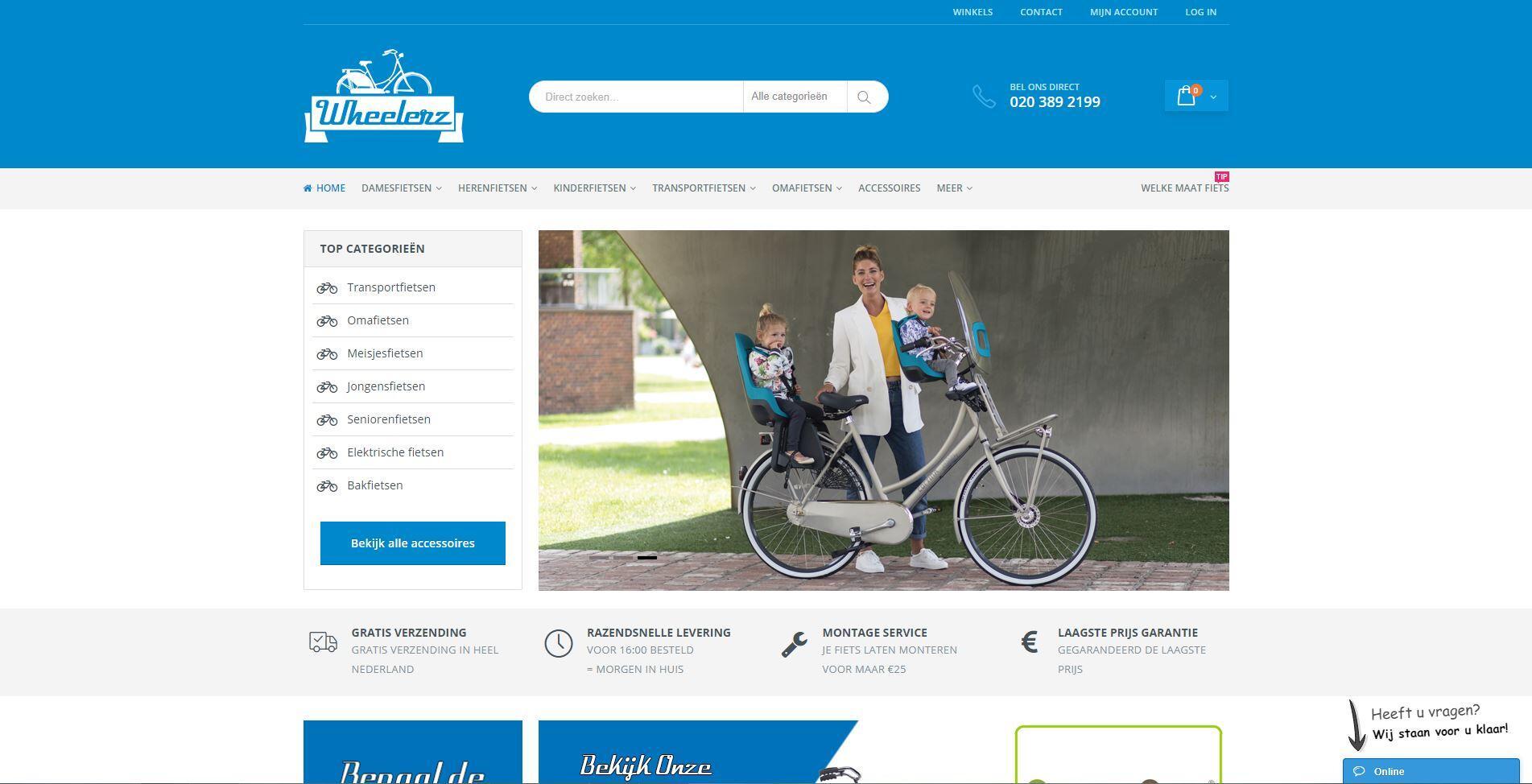 Wheelerz fietsen Amsterdam