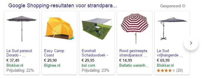 google shopping verbeteren conversie webshop