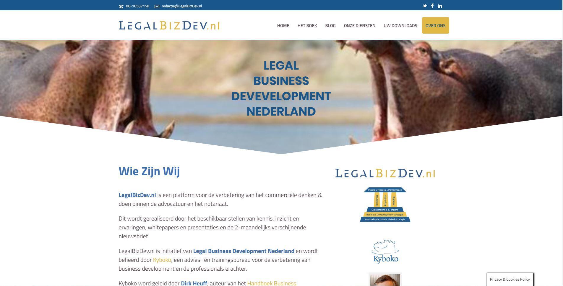 website voor een jurist laten maken