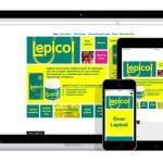 responsive website voor voedingssupplement