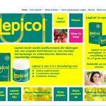 website voor voedingssupplementen