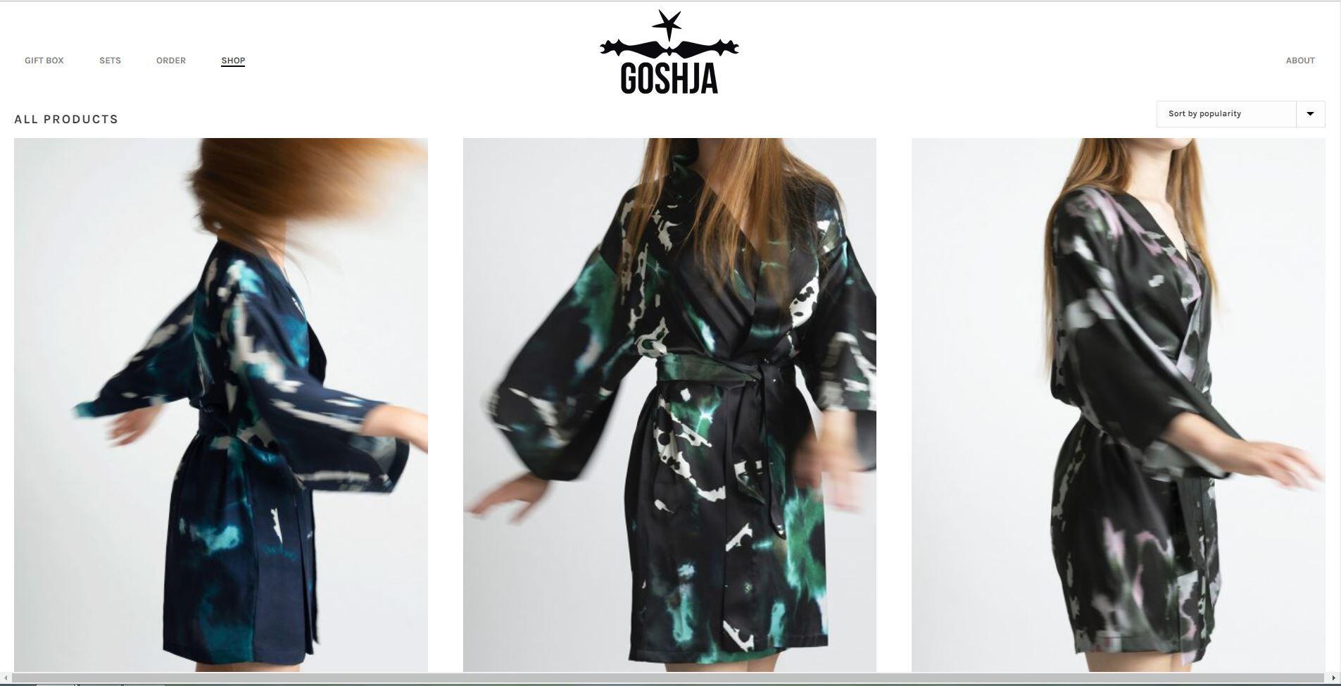 Webshop voor luxe kleding