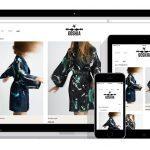 responsive webshop voor nachtkleding