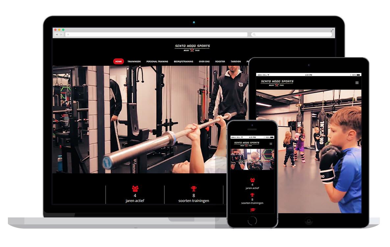 website voor sportschool