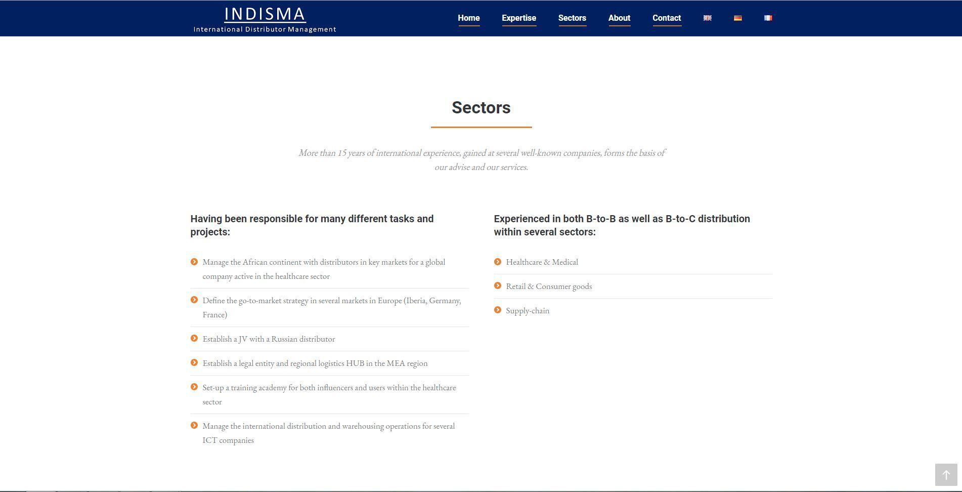 meerdere talen op website