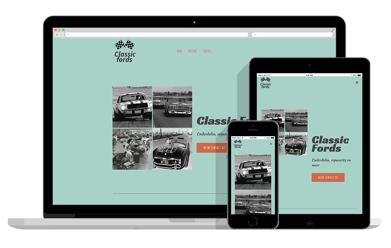 responsive website voor autobedrijf