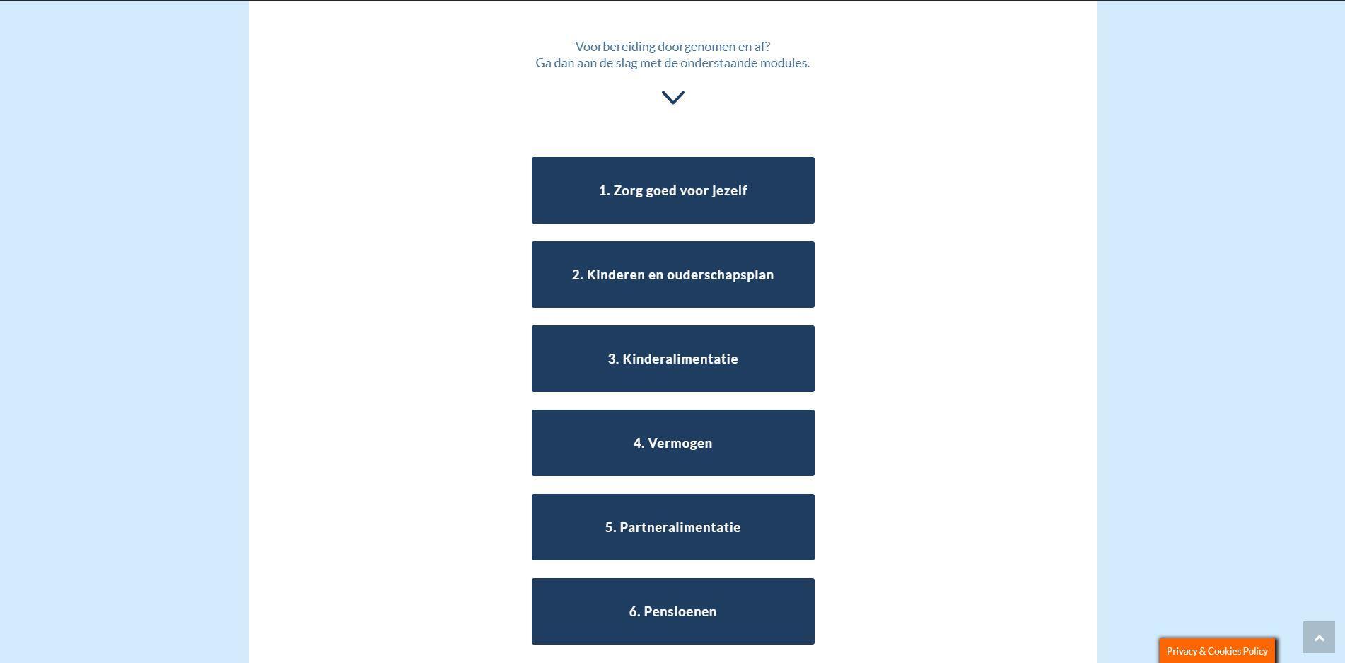 website voor mediator