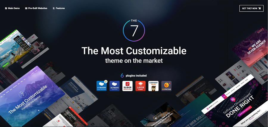 the7 wordpress website templates